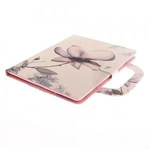 Leather Protective Case with A Hand for iPad 2 / 3 / 4 -