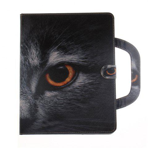 Fashion Leather Protective Case Wolf Pattern with A Hand for iPad 2 / 3 / 4