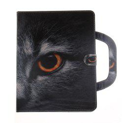 Leather Protective Case Wolf Pattern with A Hand for iPad 2 / 3 / 4 -