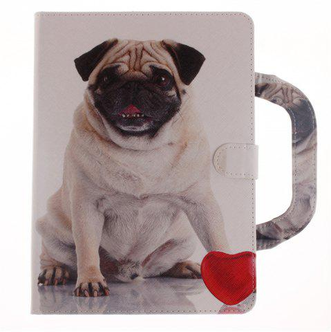 Buy Leather Protective Case Dog Pattern with A Hand for iPad Mini 4