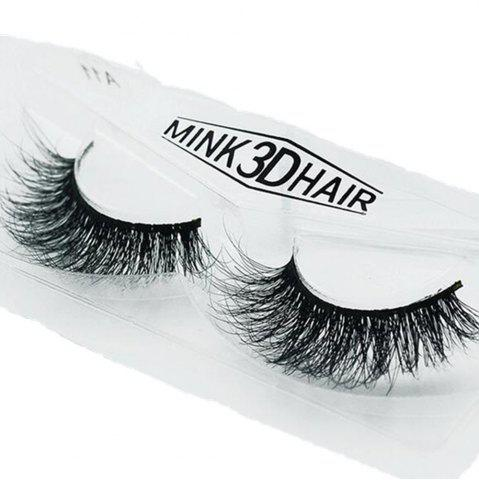 Store Mink Lashes 3D Real Mink Eyelashes Volume False Lashes Eye Extension Long lasting