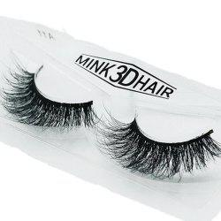 Mink Lashes 3D Real Mink Eyelashes Volume False Lashes Eye Extension Long lasting -