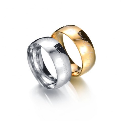 Chic New Stainless Steel Finger Rings For Women Fashion Jewelry