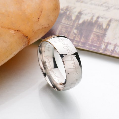 Outfit New Stainless Steel Finger Rings For Women Fashion Jewelry