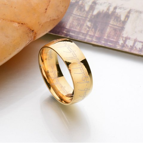 Discount New Stainless Steel Finger Rings For Women Fashion Jewelry