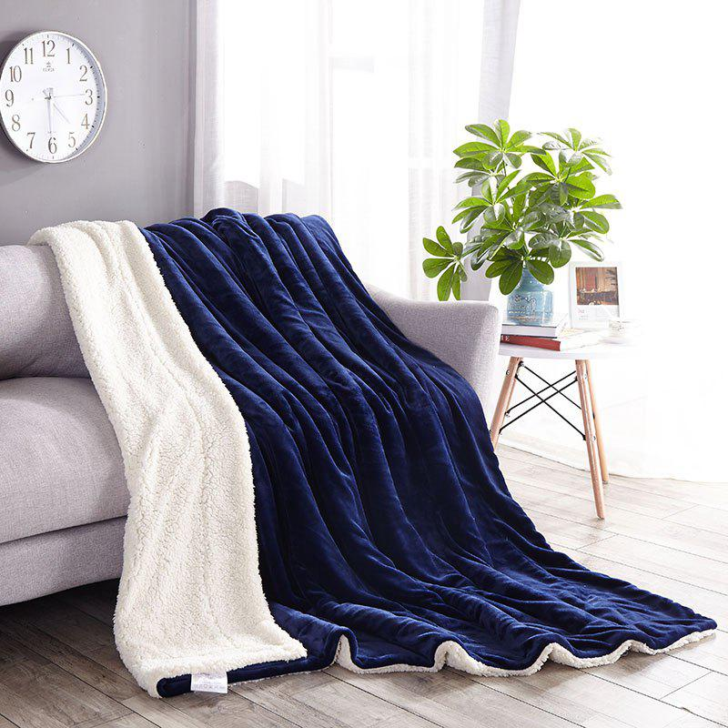 Trendy High-End Double Think Blanket Made By Camofleece And Flannel