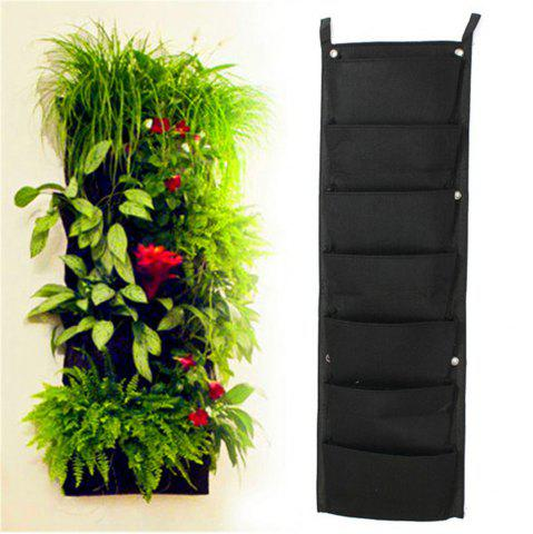 Affordable 7-POCKET Outdoor Vertical Gardening Flower Pots and Planter Hanging Pots Planter On Wall