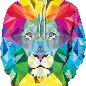 2017 Autumn New Digital Printing Hoodie -