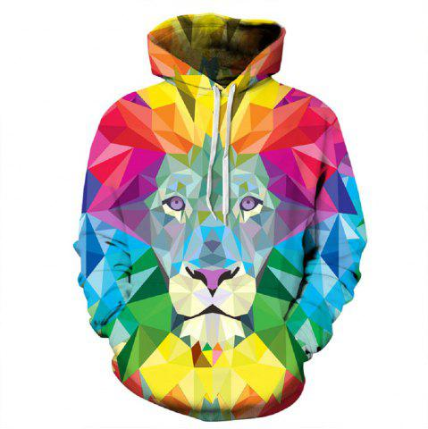 Chic 2017 Autumn New Digital Printing Hoodie