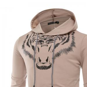 Tiger Man Hoodie impression mode loisirs ensemble -