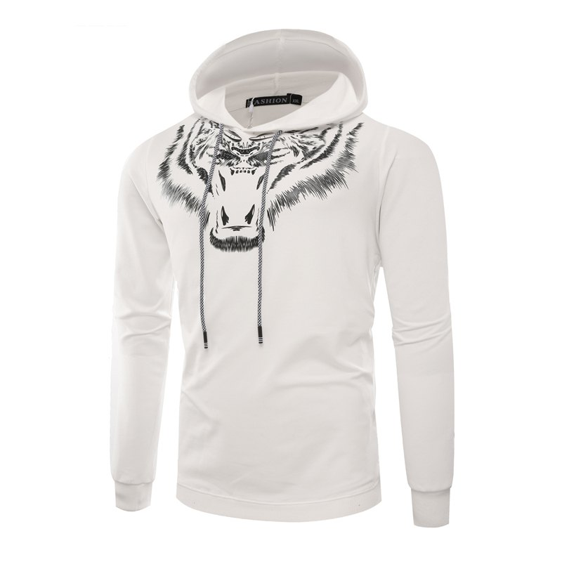Best Tiger Man Hoodie Printing Fashion Leisure Set
