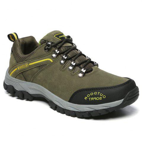 Fancy Men'S Lace Hiking Outdoor Hiking Shoes