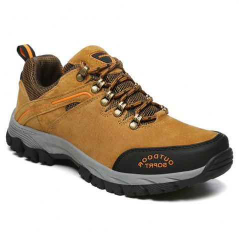 Sale Men'S Lace Hiking Outdoor Hiking Shoes