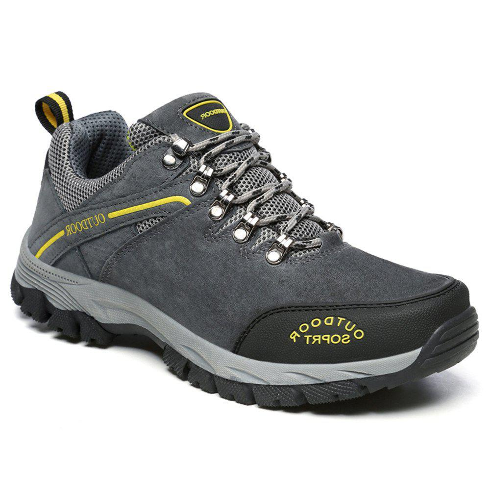 Outfit Men'S Lace Hiking Outdoor Hiking Shoes