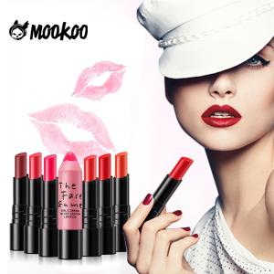 MOOKOO Girl'S Dream Velvet Crayon Lipstick Long Lasting Moisturize and Not Easily To Fade -