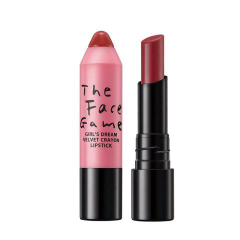 Chic MOOKOO Girl'S Dream Velvet Crayon Lipstick Long Lasting Moisturize and Not Easily To Fade