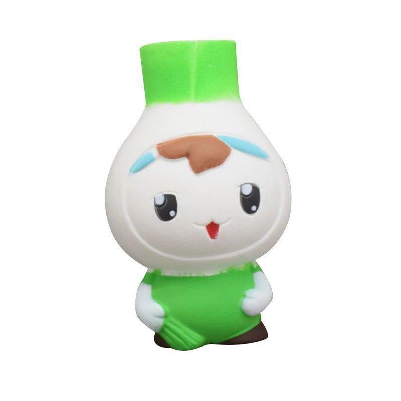 Image of Cartoon Onions Baby Squishy Phone Straps Accessories Slow Rising Sweet scented Charms Kid Toys Decoration