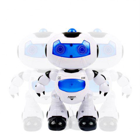 Outfits Electronic RC Robot Learning Toys Toddler Intelligent Action Dancing Remote Control with Music Lights for Kid