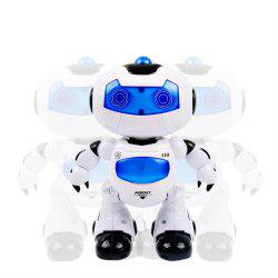 Electronic RC Robot Learning Toys Toddler Intelligent Action Dancing Remote Control with Music Lights for Kid -