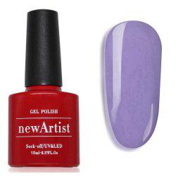 NewArtist Pure Color UV LED Nail Gel Polish Violet Series 30S Fast Drying Long Lasting Sock Off 10Ml -