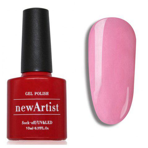 Online NewArtist Pure Color UV LED Nail Gel Polish Bobbi Pink Series 30S Fast Drying Long Lasting Sock Off 10Ml
