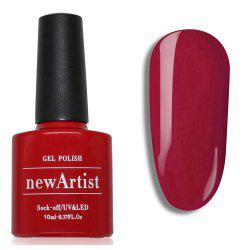 NewArtist Pure Color UV LED Nail Gel Polish Grenadine Series 30S Fast Drying Long Lasting Sock Off 10Ml -