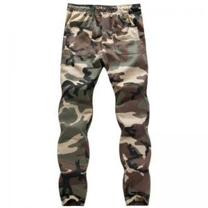 The Spring and Autumn Popular Young Men Camouflage Feet Pants -