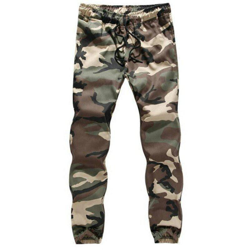 Trendy The Spring and Autumn Popular Young Men Camouflage Feet Pants