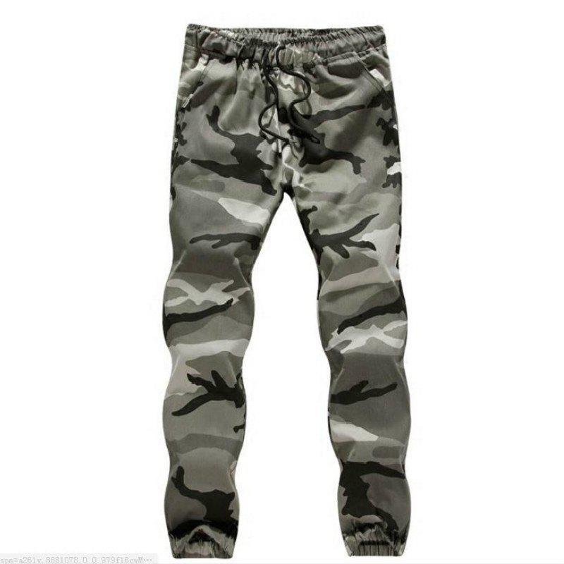 Store The Spring and Autumn Popular Young Men Camouflage Feet Pants