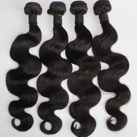 Fashion Body Wave 100 Percent Brazilian Virgin Human Hair Weave 10-20inch 300grams/lot