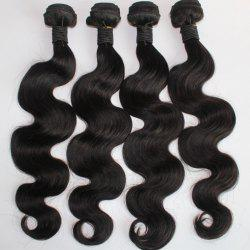 Body Wave 100 Percent Brazilian Virgin Human Hair Weave 10-20inch 300grams/lot -