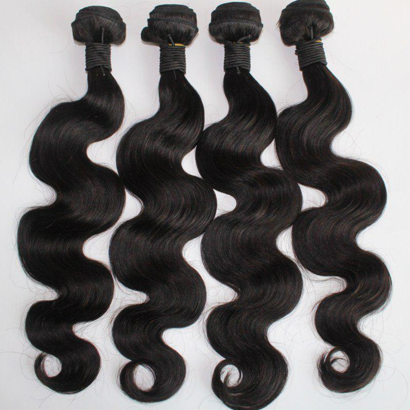 Affordable Body Wave 100 Percent Brazilian Virgin Human Hair Weave 10-20inch 300grams/lot