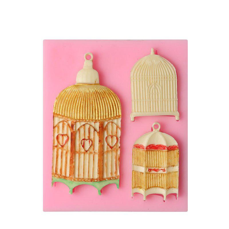 Wedding Birdcages Silicone Mold for Sugarcraft Cake Decoration Cupcake Topper Chocolate Pastry Polymer Clay Soap Making