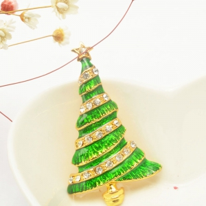 Christmas Tree Brooch Pin Christmas Gifts Jewelry -