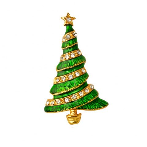 Discount Christmas Tree Brooch Pin Christmas Gifts Jewelry