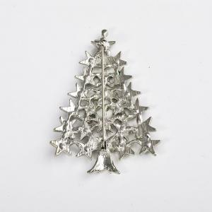 Rhinestone Christmas Tree Charms Pendants Pins Brooch Women Girls Brooches Pins Decoration Xmas Merry Xmas Gifts -