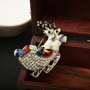 Deer Brooches Rhinestone Brooch Pins Jewelry -