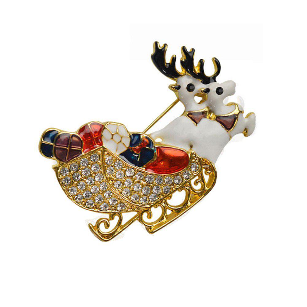 Latest Deer Brooches Rhinestone Brooch Pins Jewelry
