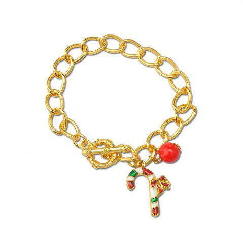 Buy Crystal Beads Alloy Pendant Fashion Alloy Bracelet Christmas Gift For Woman