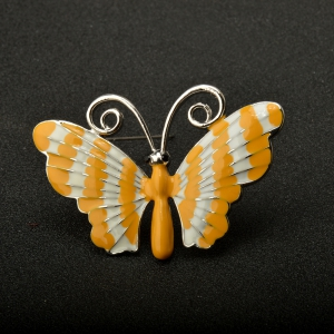 Paint Butterfly Brooch Pins Fashion Costume Jewelry for Women or Girls -