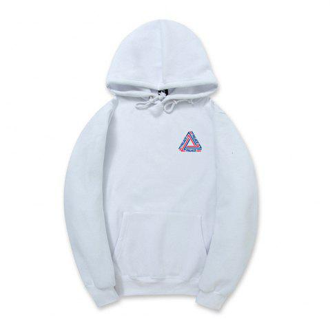 Discount Triangle Printed Men'S Hoodie
