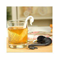 Swan Shaped Teaspoon Tea Infuser Filter Strainer -
