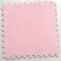 Jigsaw Floor Mat Carpet Stitching Carpet Doormat EVA Foam - Pink - 30cmx30cm