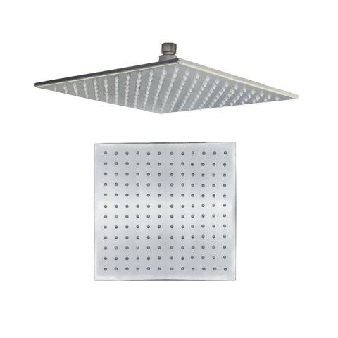 Shop CP-400FL SUS304 Stainless Steel 16-INCH Square Brushed LED Light Shower Head