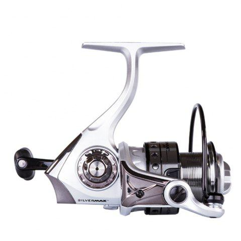 Shop Abu Garcia Silver Max 2000 High Value 5+1 Ball Bearing Gear Ratio 5.2:1 Freshwater Spinning Fishing Reel