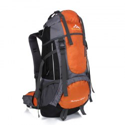 Huwaijianfeng 55L Large Space Climbing Hiking Camping Backpack -