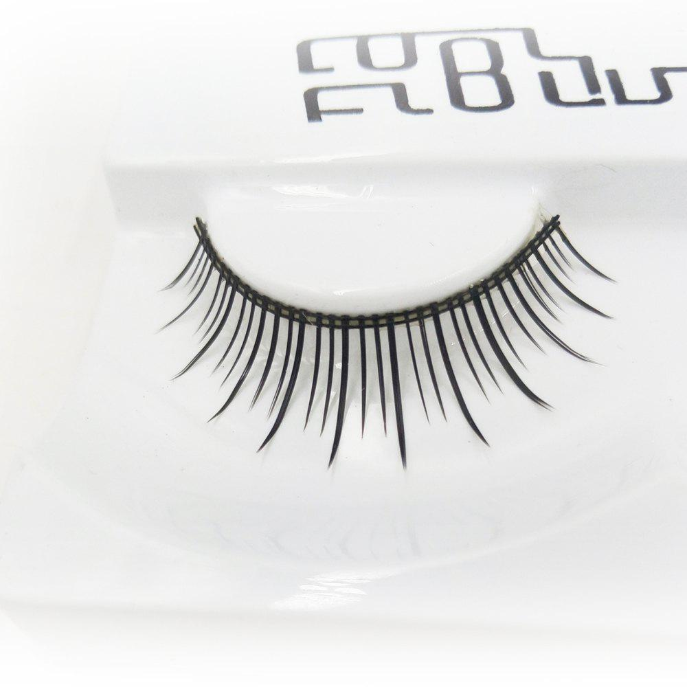 Sale Long Black Natural False Eyelash in Daily Life  Independent Packing