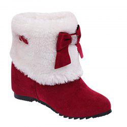 Autumn and Winter Increased By The Plus Velvet Plus Cotton Winter Boots -