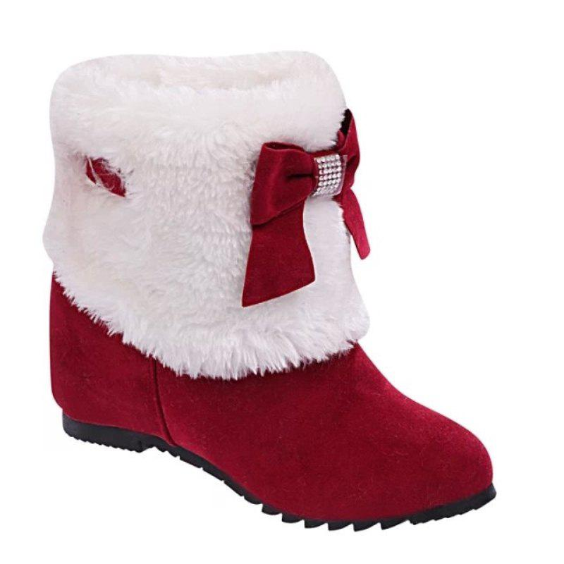 Shops Autumn and Winter Increased By The Plus Velvet Plus Cotton Winter Boots