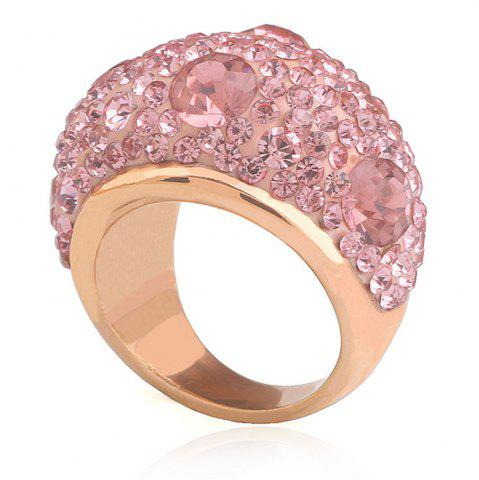 Store New Diamond Ring Women Rose Gold Stainless Steel Jewelry Gift
